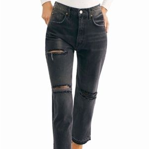 FREE PEOPLE LITA HIGH RISE JEANS